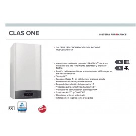 Caldera a gas de condensación Ariston CLAS ONE 30 EU
