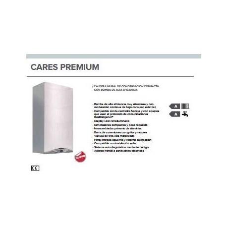 Caldera a gas de condensación Ariston CARES PREMIUM 24 FF