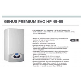Caldera a gas Ariston GENUS PREMIUM EVO HP 45 kW