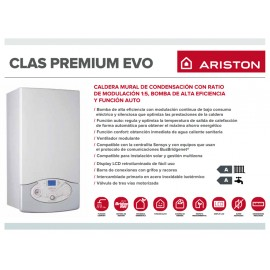 Caldera a gas de condensaci n ariston clas premium evo 24 for Ariston clas premium 24 ff